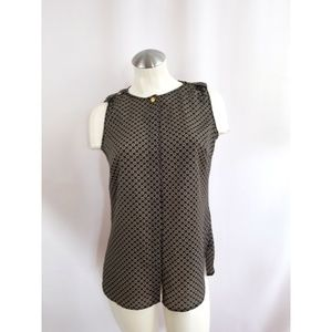 Michael Kors Size 2 Blouse Sleeveless